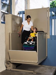 Commercial Wheelchair Lift for Schools
